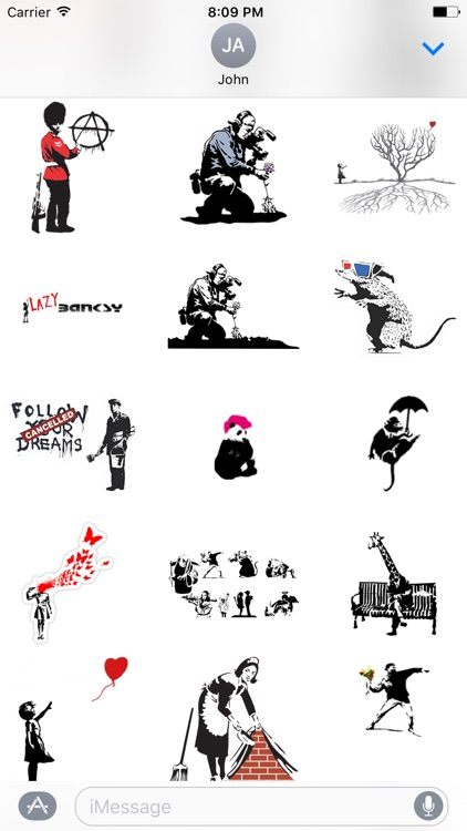 Banksy Sticker Art screenshot-2