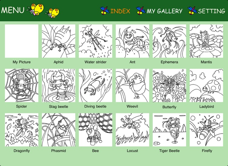 Insect Coloring ~Bugs in Wonderland~ screenshot-4