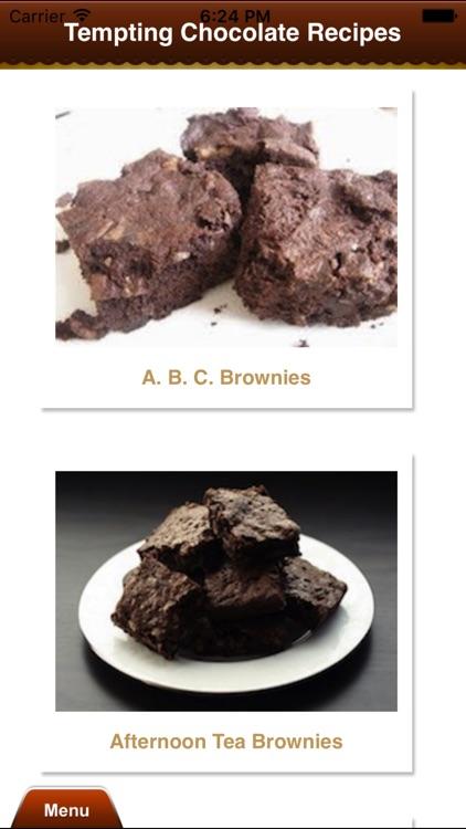 Tempting Chocolate Recipes