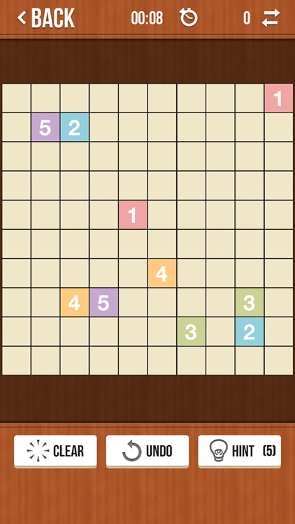 Number Link Free - Logic Path and Line Drawing Board Game screenshot-3
