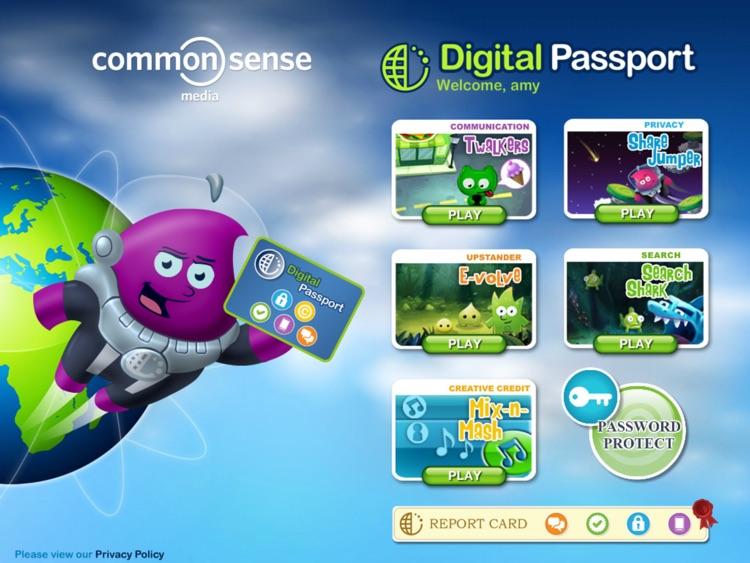 Digital Passport for Kids by Common Sense Media