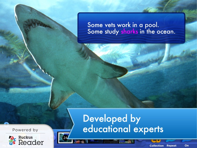 SeaWorld: Ruckus Reader screenshot-1