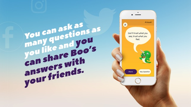 Boo - Answers About Your Future on the App Store