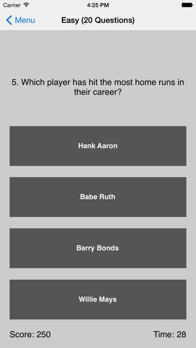 Ultimate Baseball Triviaのおすすめ画像3