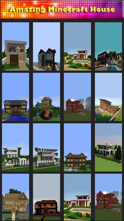 Amazing House Wallpaper : Minecraft Edition