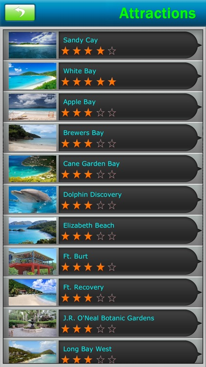 British Virgin Islands offline Map Travel Guide