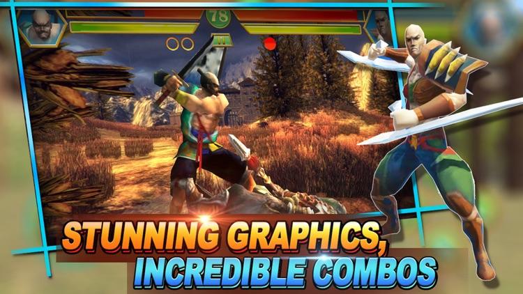 Shadow Blade fight:Free multiplayer PVP online boxing kombat games screenshot-3