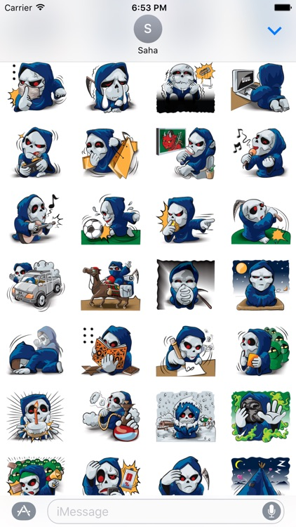 Mr. Blue Reaper for Winter