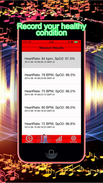 Pulse Heart Rate Oximeter + screenshot-4