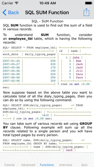 Learn SQL-tutorial|Advanced|Interview|Quiz|Manualのおすすめ画像2