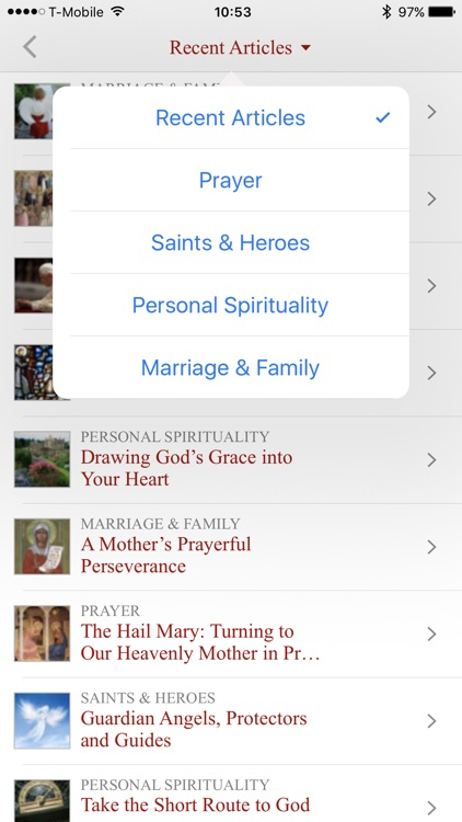 The Word Among Us Catholic Mass Edition app image