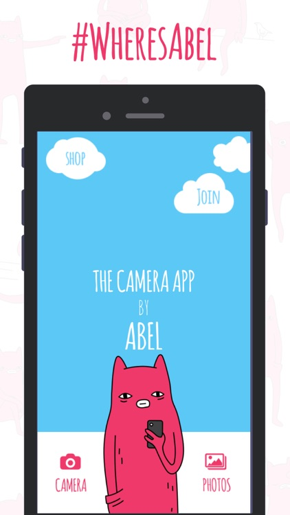 #WheresAbel - Abel stickers for your photos