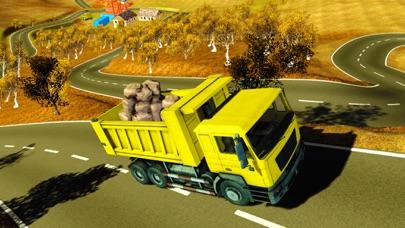 貨物4x4のオフロードトラックドライバーの交通シミュレータのおすすめ画像4