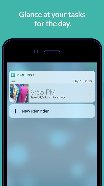PhotoMind - Simple. Photo. Reminders. screenshot-3