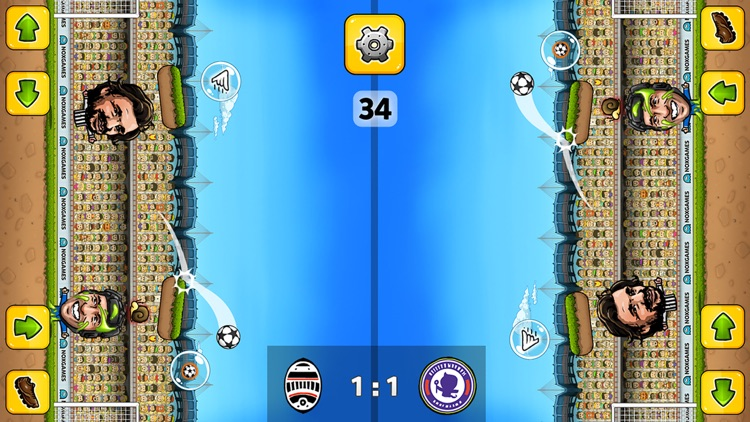 Puppet Soccer Champions - Football League of the big head Marionette stars and players screenshot-3
