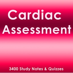 Cardiac Assessment Exam Review App- Q&A & concepts