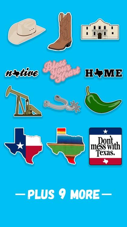 Lone Star State Sticker Pack