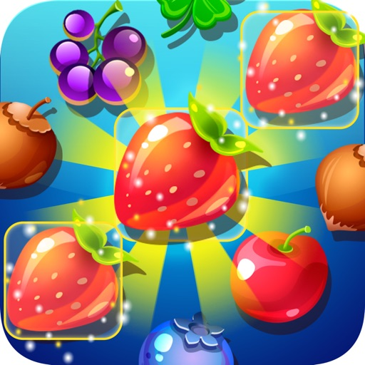 Tropical Twist Mania: Match 3 Fruits Garden