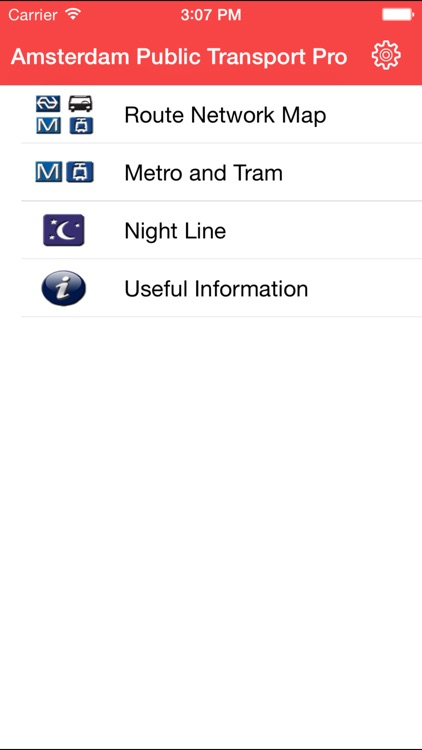 Amsterdam Public Transport Pro screenshot-0