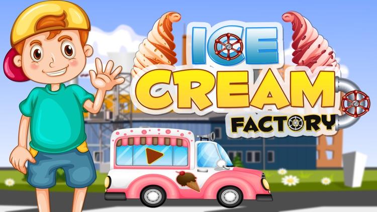 Ice Cream Factory Dessert - Play free Gelato Maker Crazy Chef Cooking Game