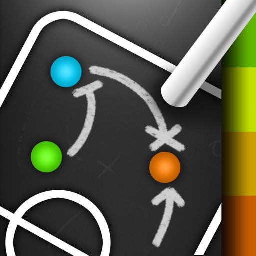 CoachNote : Sports Coach's Interactive Whiteboard icon