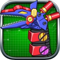 Steel Dino Toy: Mechanic Tanystropheus