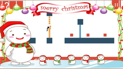 Christmas Stick Man Tap Line pigeon Games for kids