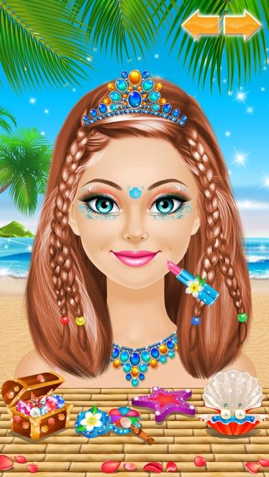 Tropical Princess - Makeup and Dressup Salon Game Screenshot 3