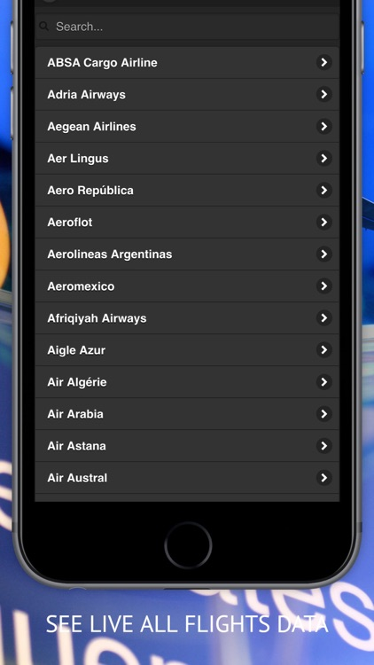 Air Tracker Free - Live Flight Radar & Status screenshot-3