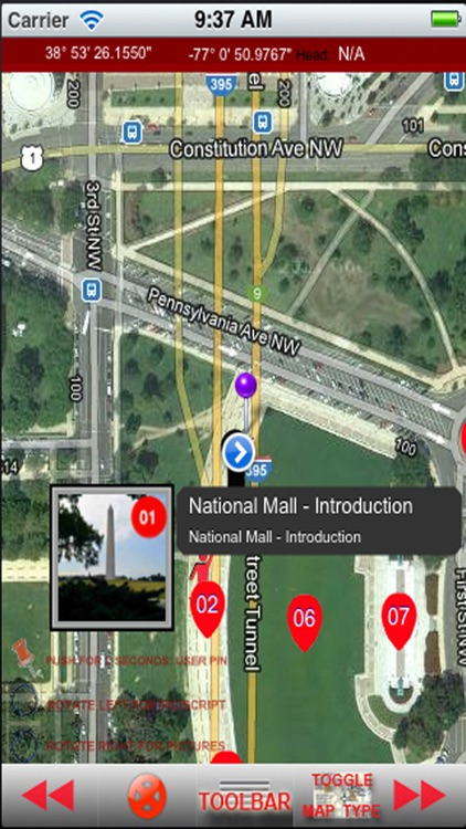 iSmartGuide National Mall in Washington DC Edition