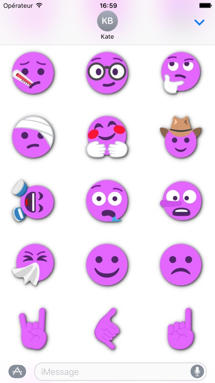 FUCHSIA Emoji • Stickers for iMessage screenshot-4