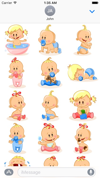Child Cute Sticker Pack 02