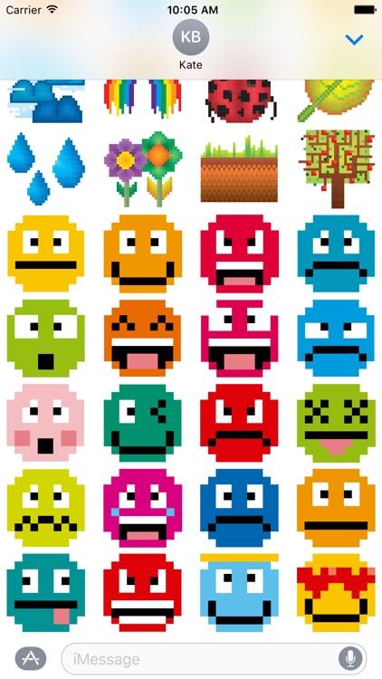 8-bit Stickers for iMesssage screenshot-4