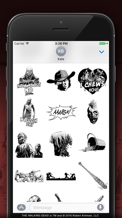 The Walking Dead ™ Stickers screenshot-3