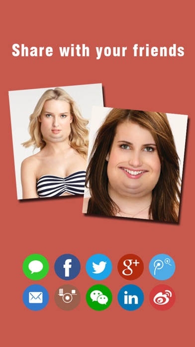 Make Me Fat -Crazy Funny Plump Face Changer Boothのおすすめ画像4