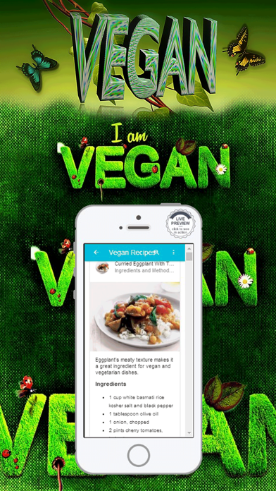 Vegan Diet Food List Recipes screenshot three
