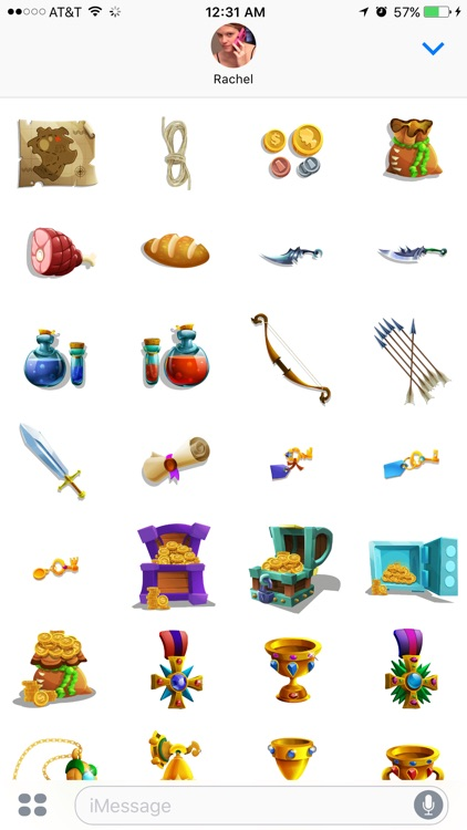 Role Playing Stickers