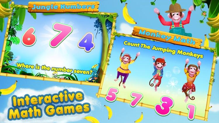 5 Little Monkeys - Activities & Sing Along screenshot-4