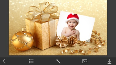 Xmas Tree Picture Frames - Photo Frame Master screenshot two