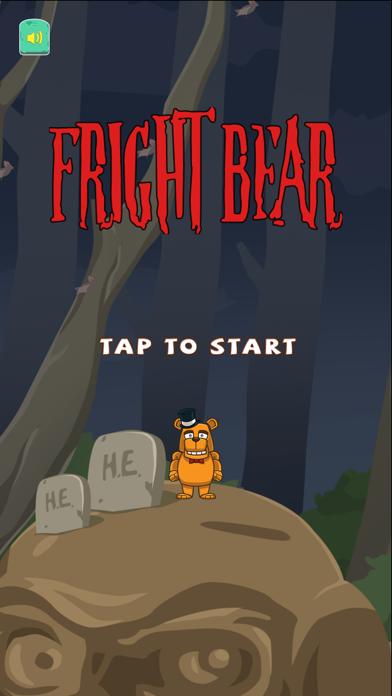 Fright Bear Jump! - Scary Night Monster Graveyard