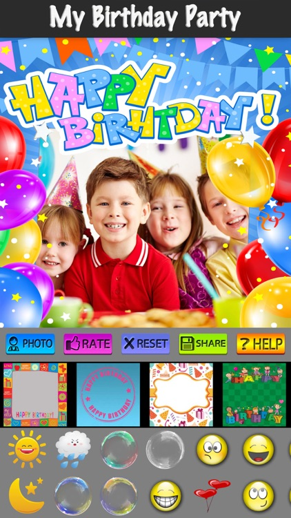 Happy Birthday Cards and Label screenshot-4