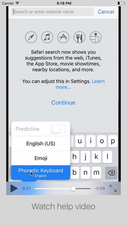 Phonetic Keyboard - Multi Language Support