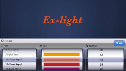 Ex-LightScreenshot von 3