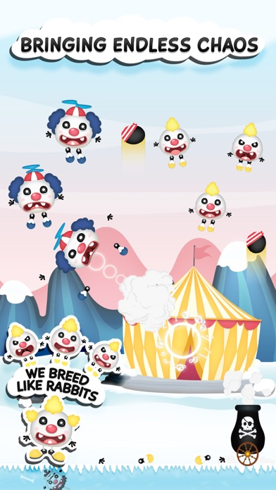 Clowny Rain - Endless Arcade Shooter screenshot four