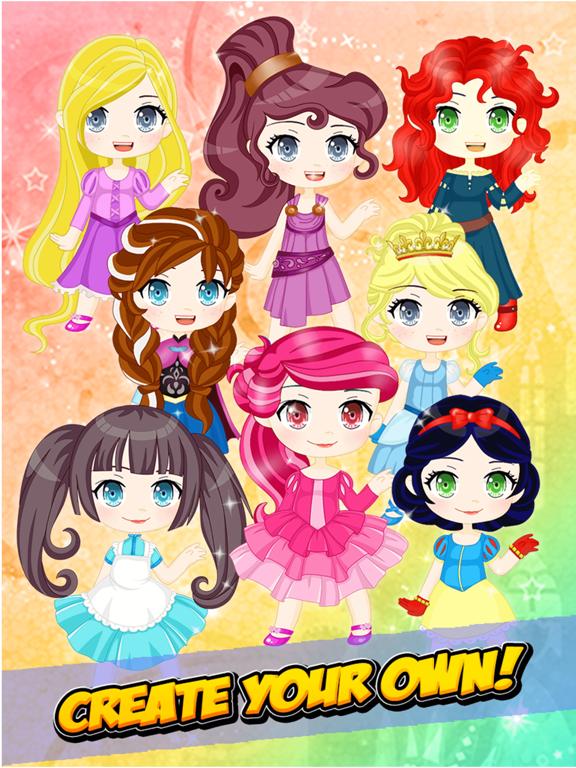 Chibi Princess Maker - Cute Anime Creator Games by Phowpinyo