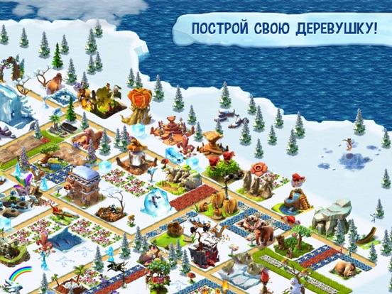 Ледниковый период: Деревушка на iPad