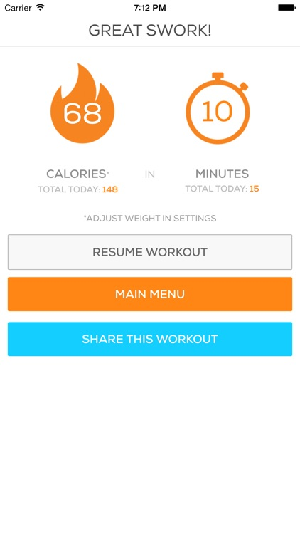 Cardio Sworkit - Endurance Trainer & Calorie Burn screenshot-3