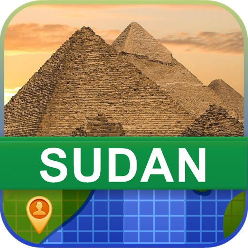 Offline Sudan Map - World Offline Maps