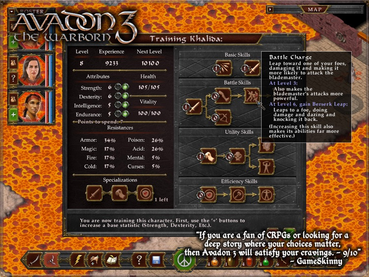 Avadon 3: The Warborn HD screenshot-4