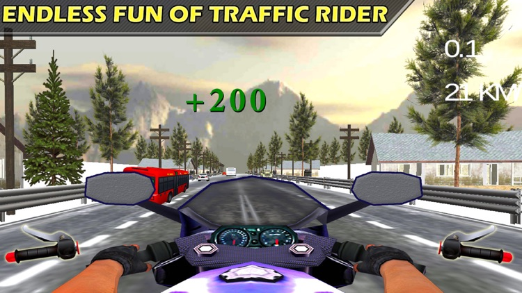 City Bike Drive : 3D Highway Ride 2016 screenshot-4